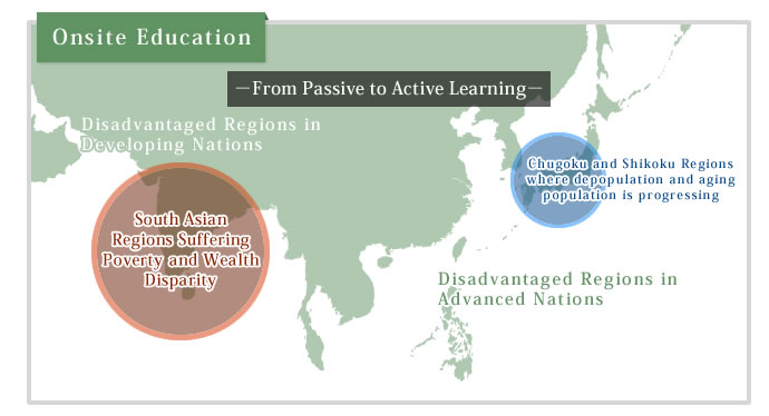 Implementation of Onsite Education in Disadvantaged Regions